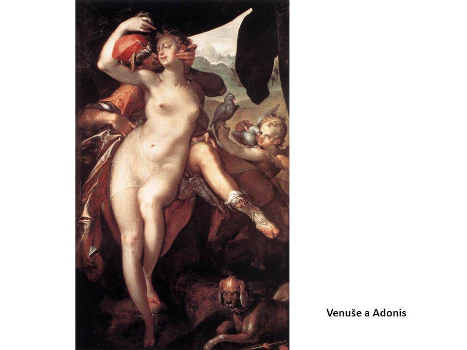 Venuše a Adonis