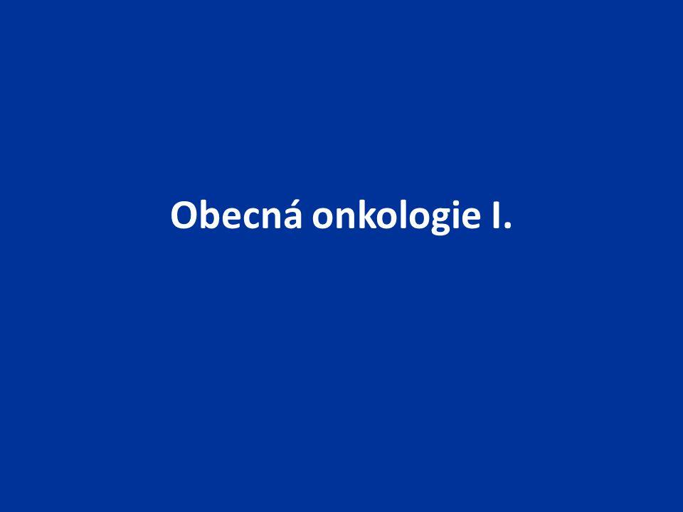 Obecná onkologie I.
