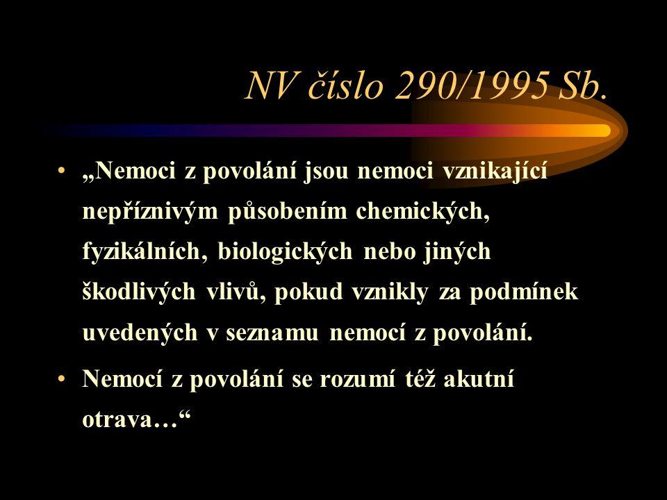NV číslo 290/1995 Sb.