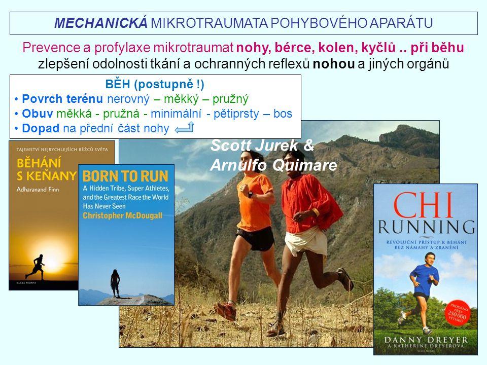 Scott Jurek & Arnulfo Quimare