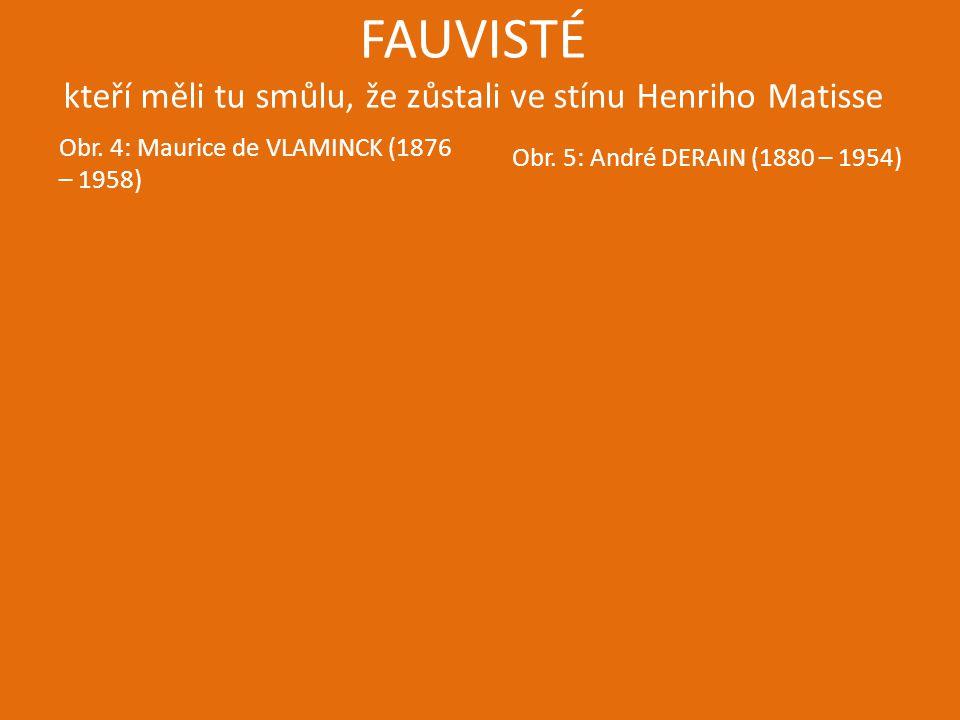 FAUVISTÉ kteří měli tu smůlu, že zůstali ve stínu Henriho Matisse