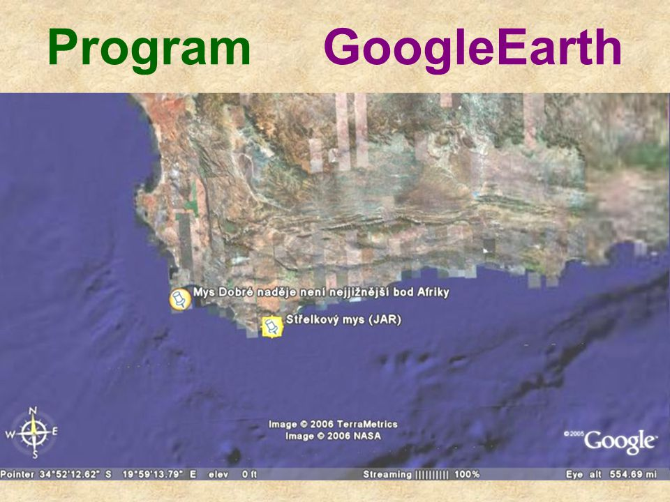 Program GoogleEarth