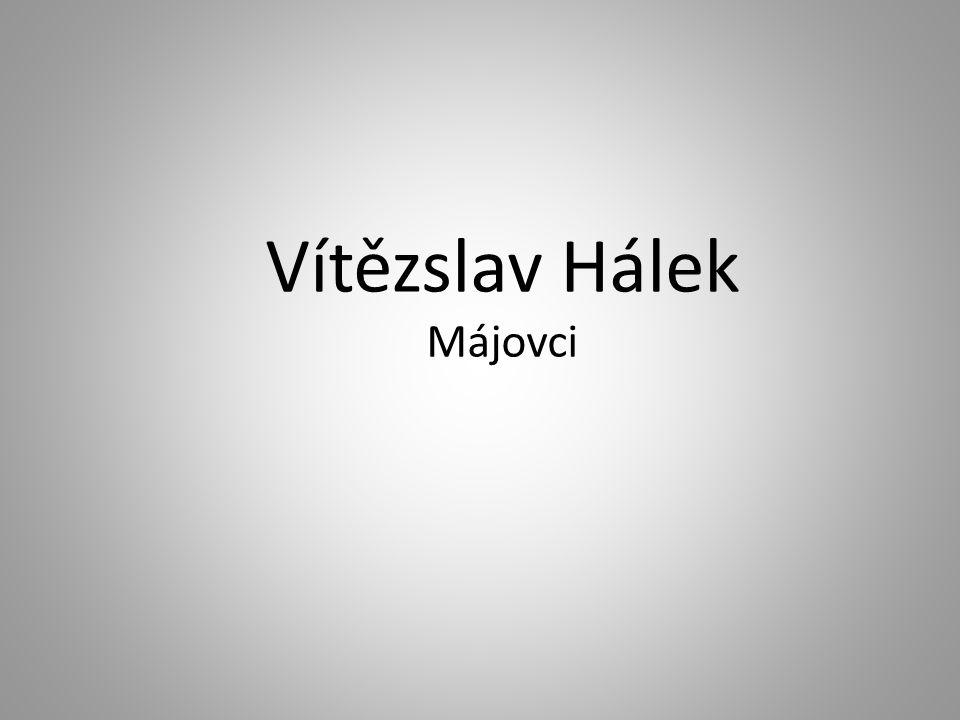 Vítězslav Hálek Májovci