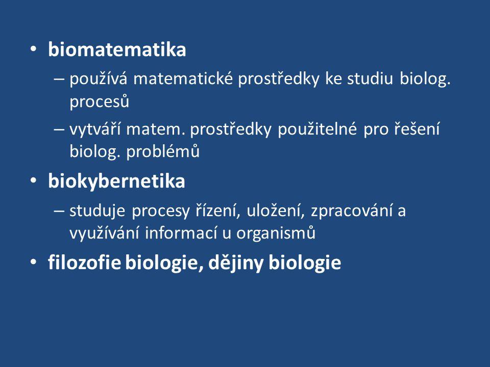 filozofie biologie, dějiny biologie