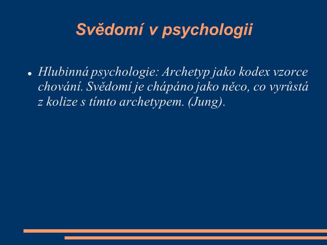 Svědomí v psychologii