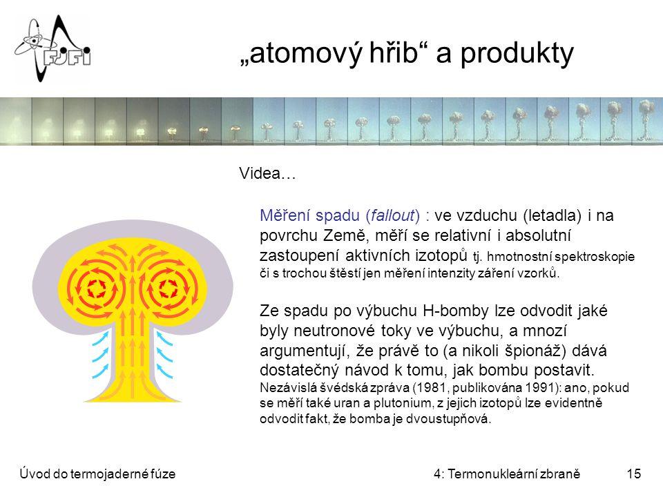 """""""atomový hřib a produkty"""