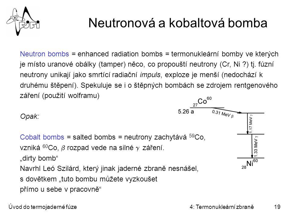 Neutronová a kobaltová bomba