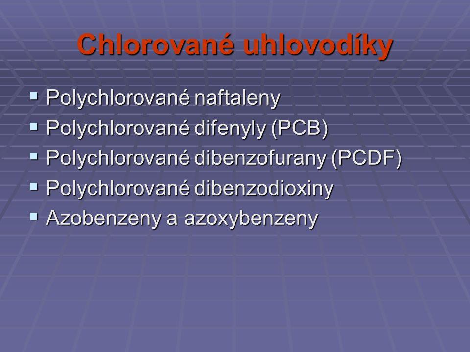 Chlorované uhlovodíky