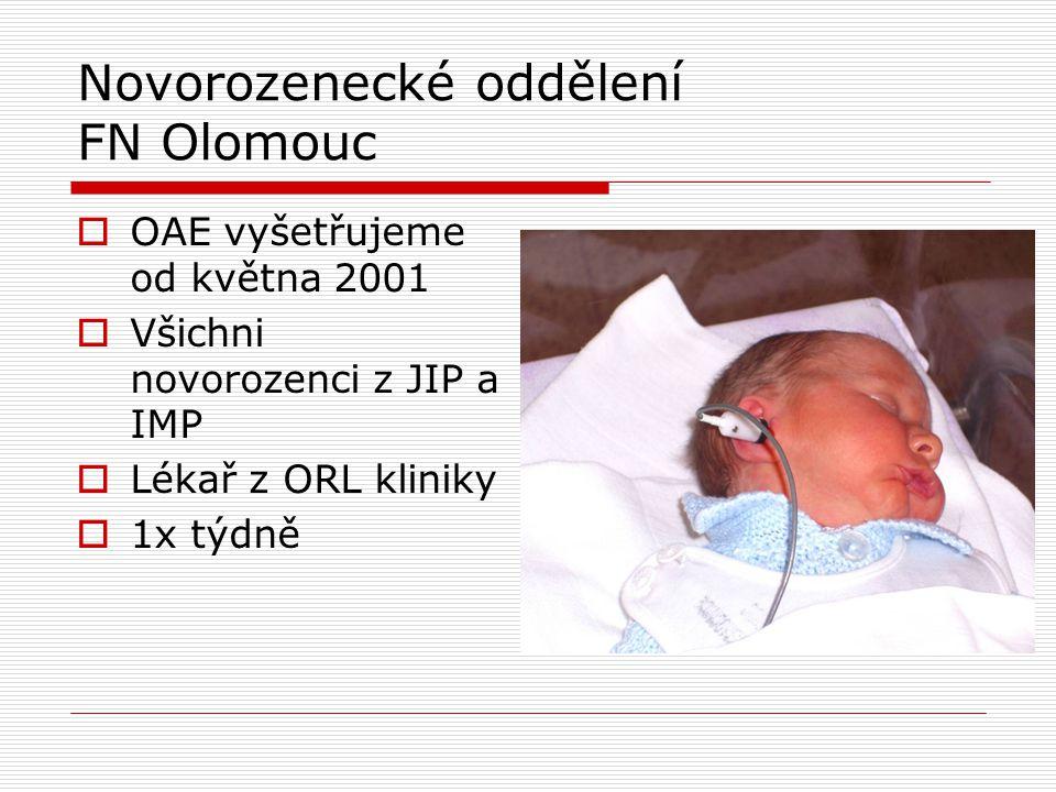 Novorozenecké oddělení FN Olomouc