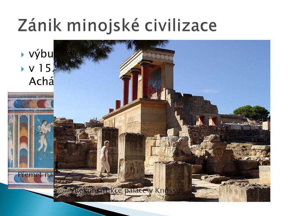 Zánik minojské civilizace