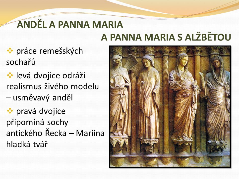 ANDĚL A PANNA MARIA A PANNA MARIA S ALŽBĚTOU