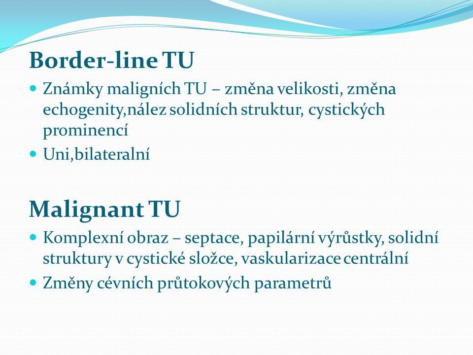 Border-line TU Malignant TU