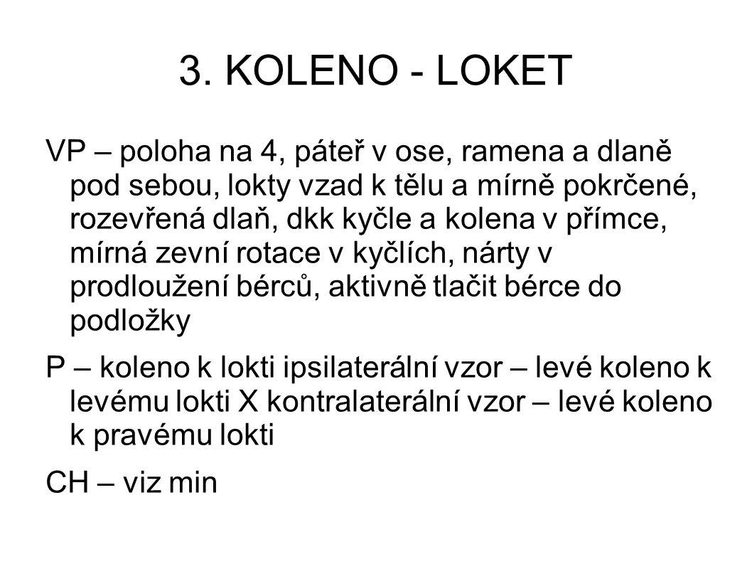 3. KOLENO - LOKET