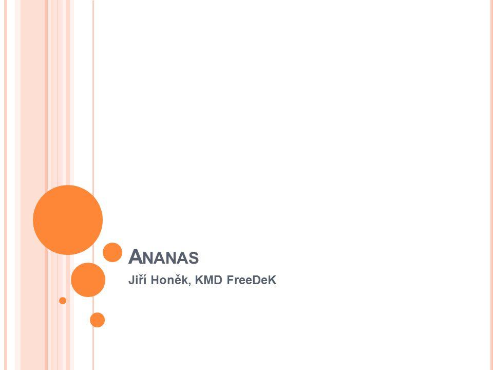 Ananas Jiří Honěk, KMD FreeDeK