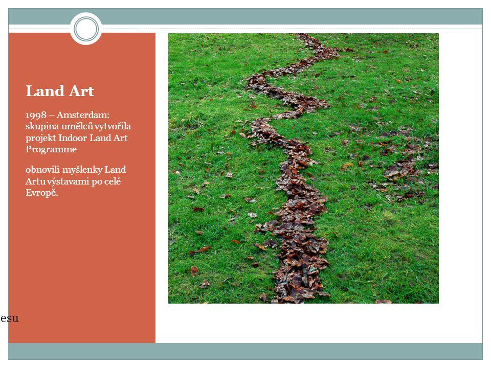 Land Art Projekt Land Artu ve Walesu zdroj: www.wikipedia.cz