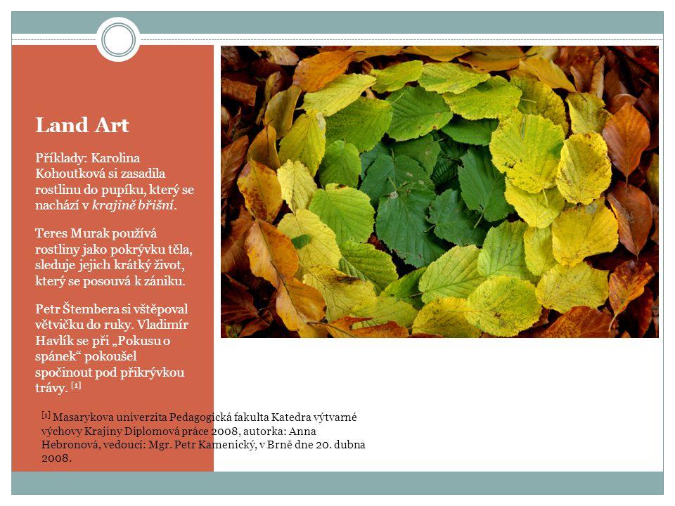 Land Art Land Art John - Jo – Dee zdroj: www.wikipedia.cz