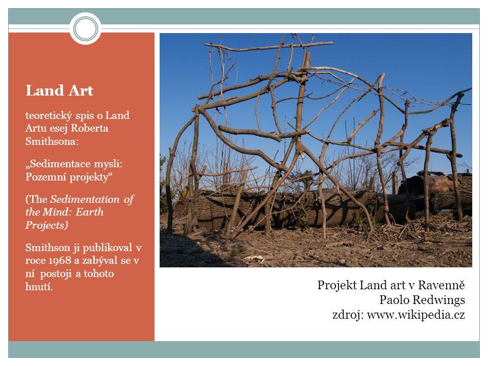 Land Art Projekt Land art v Ravenně Paolo Redwings