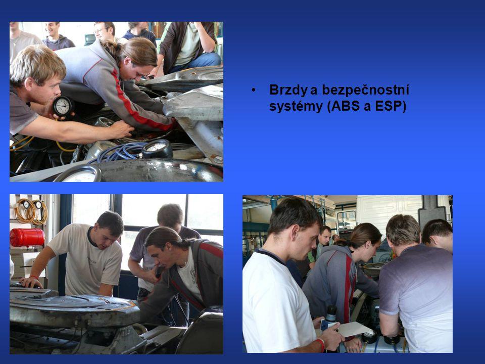 Brzdy a bezpečnostní systémy (ABS a ESP)