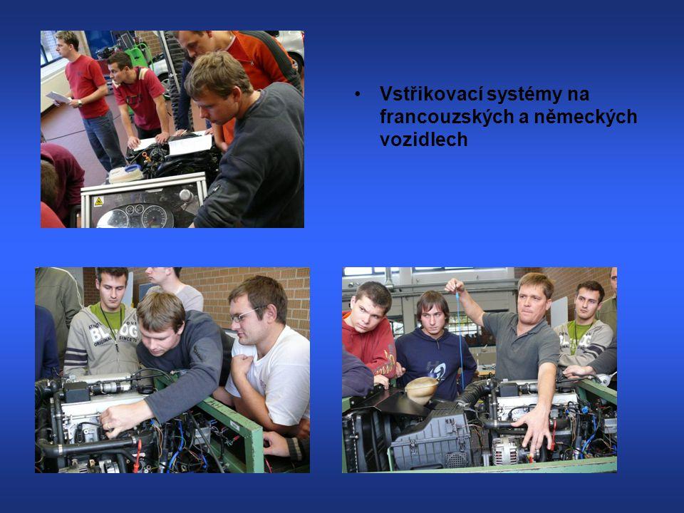 Vstřikovací systémy na francouzských a německých vozidlech