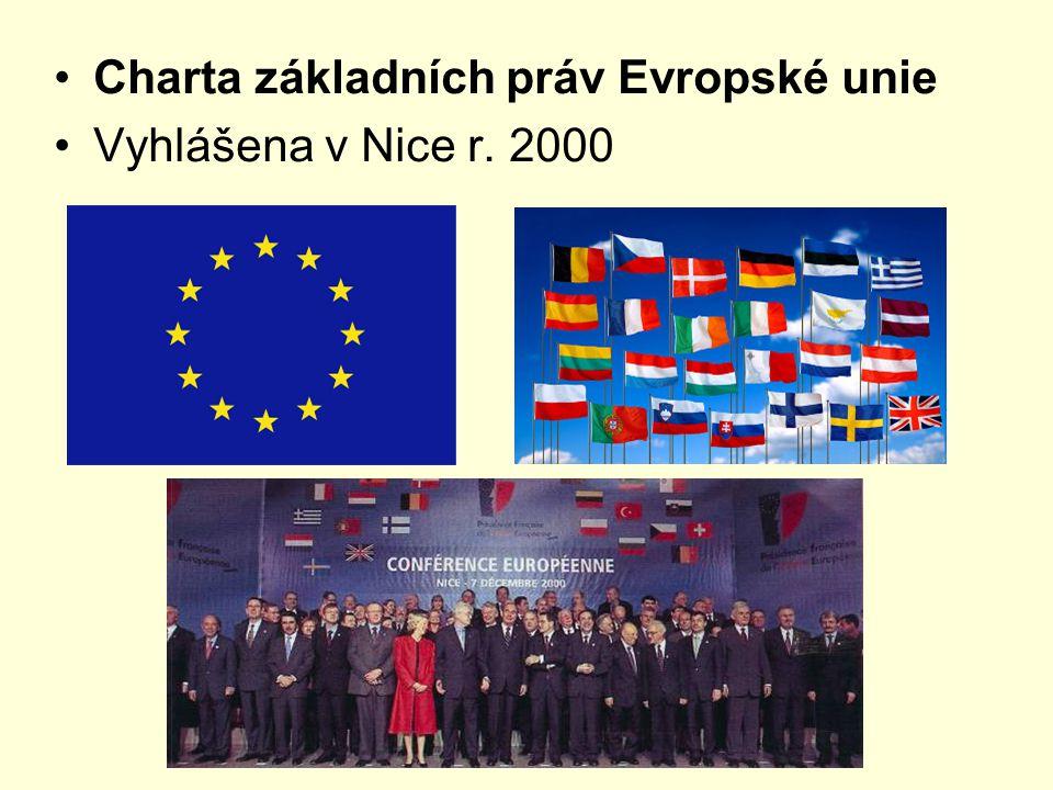 Charta základních práv Evropské unie