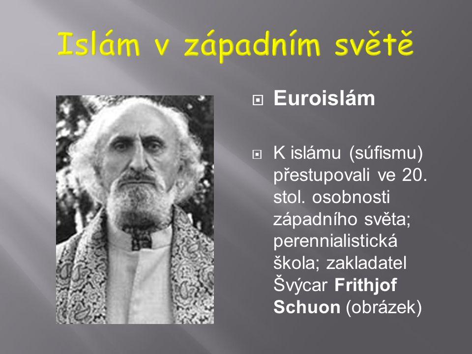 Islám v západním světě Euroislám