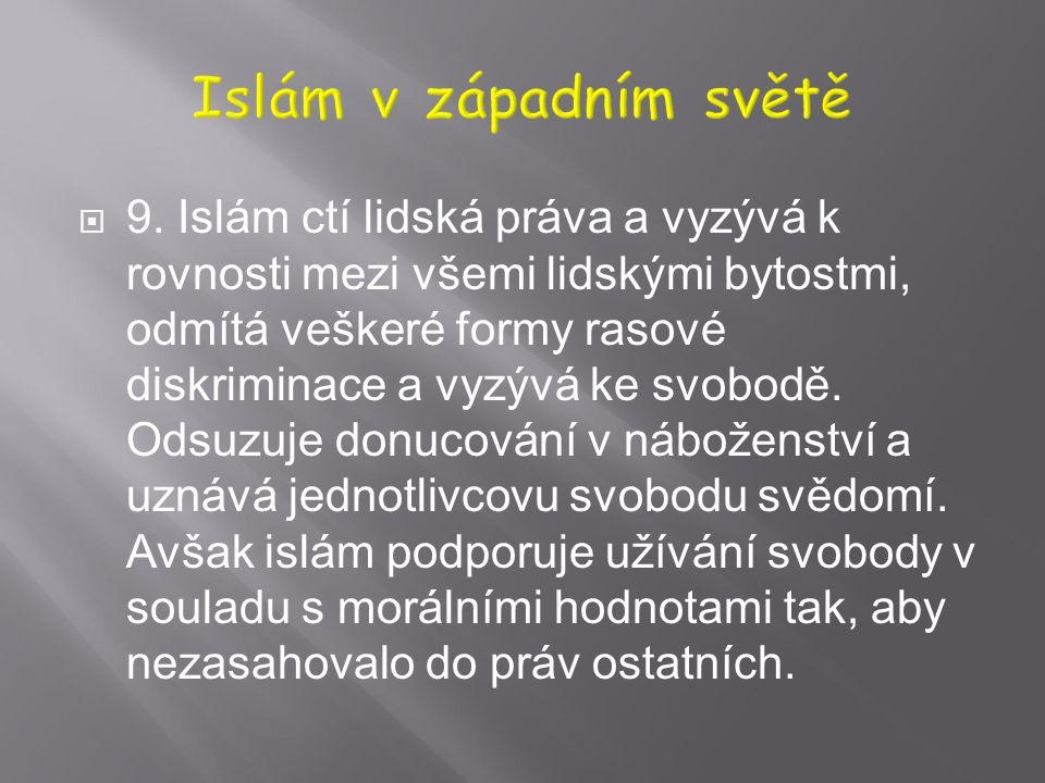 Islám v západním světě