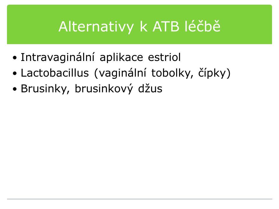 Alternativy k ATB léčbě