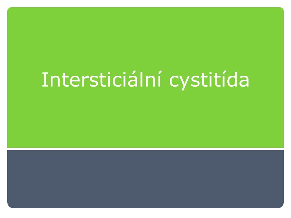Intersticiální cystitída