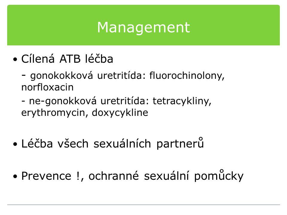Management Cílená ATB léčba
