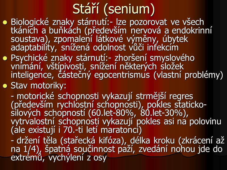 Stáří (senium)