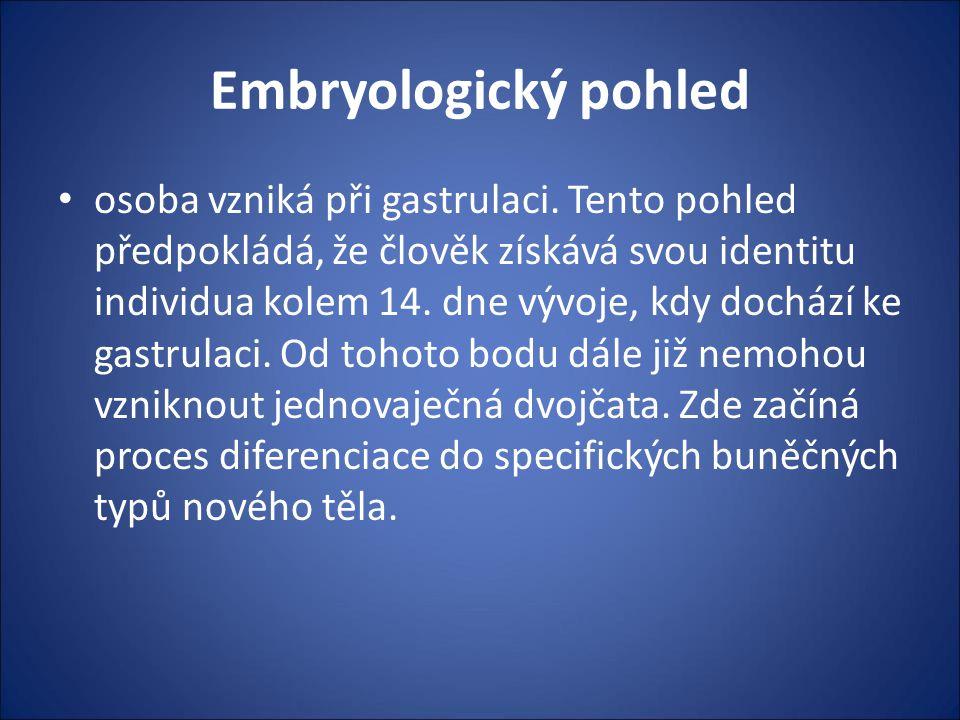 Embryologický pohled
