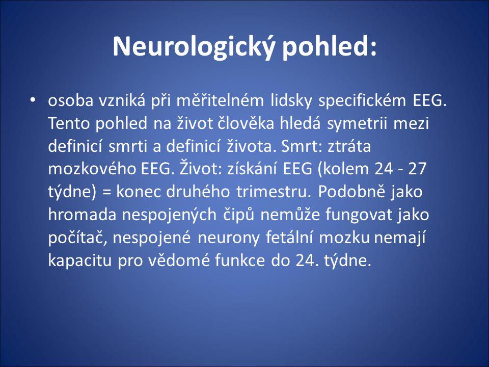 Neurologický pohled: