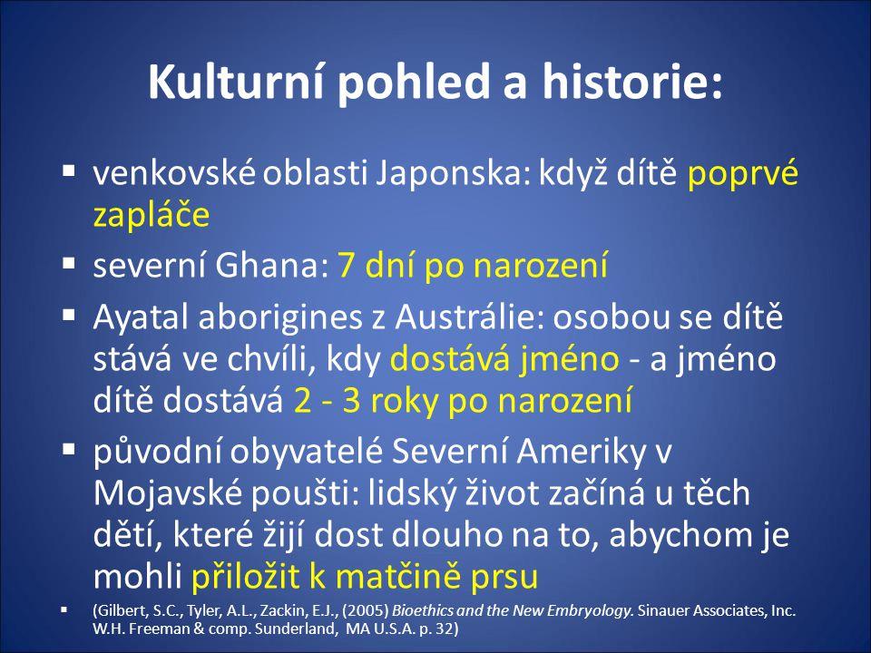 Kulturní pohled a historie: