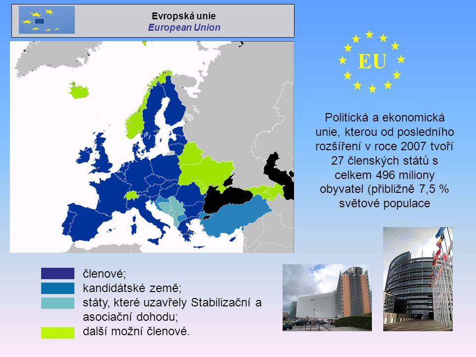 Evropská unie European Union. EU.