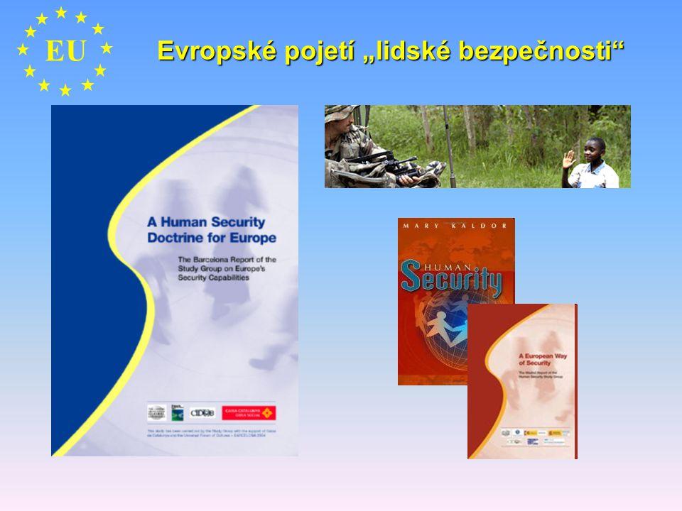 """Evropské pojetí """"lidské bezpečnosti"""