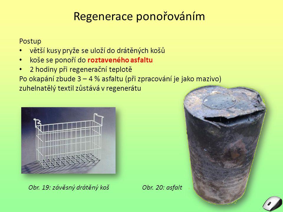 Regenerace ponořováním