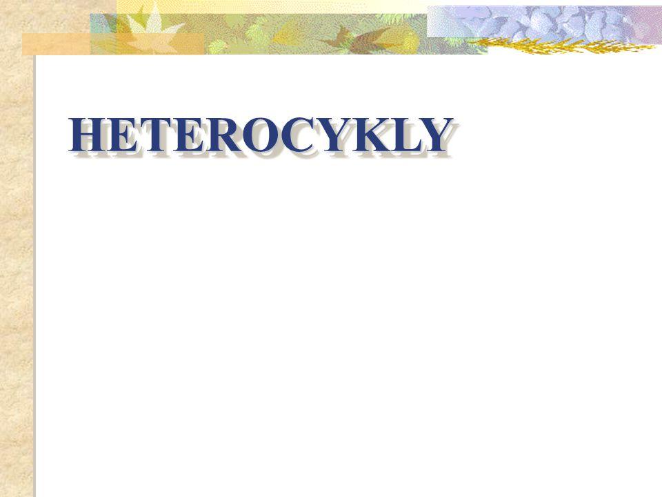 HETEROCYKLY