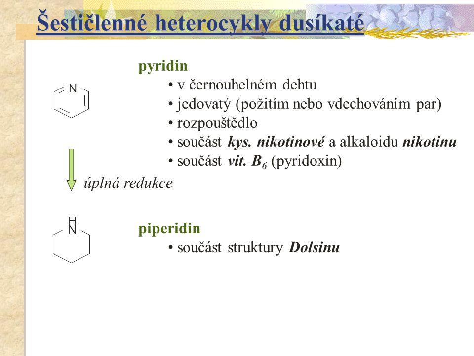 Šestičlenné heterocykly dusíkaté