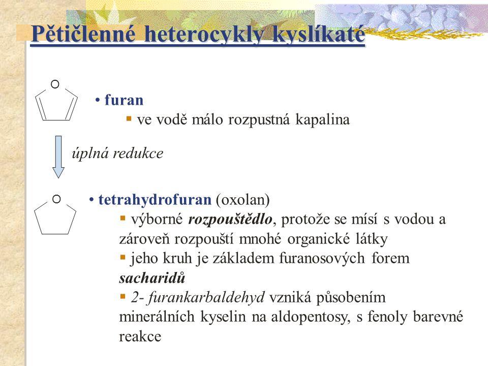 Pětičlenné heterocykly kyslíkaté