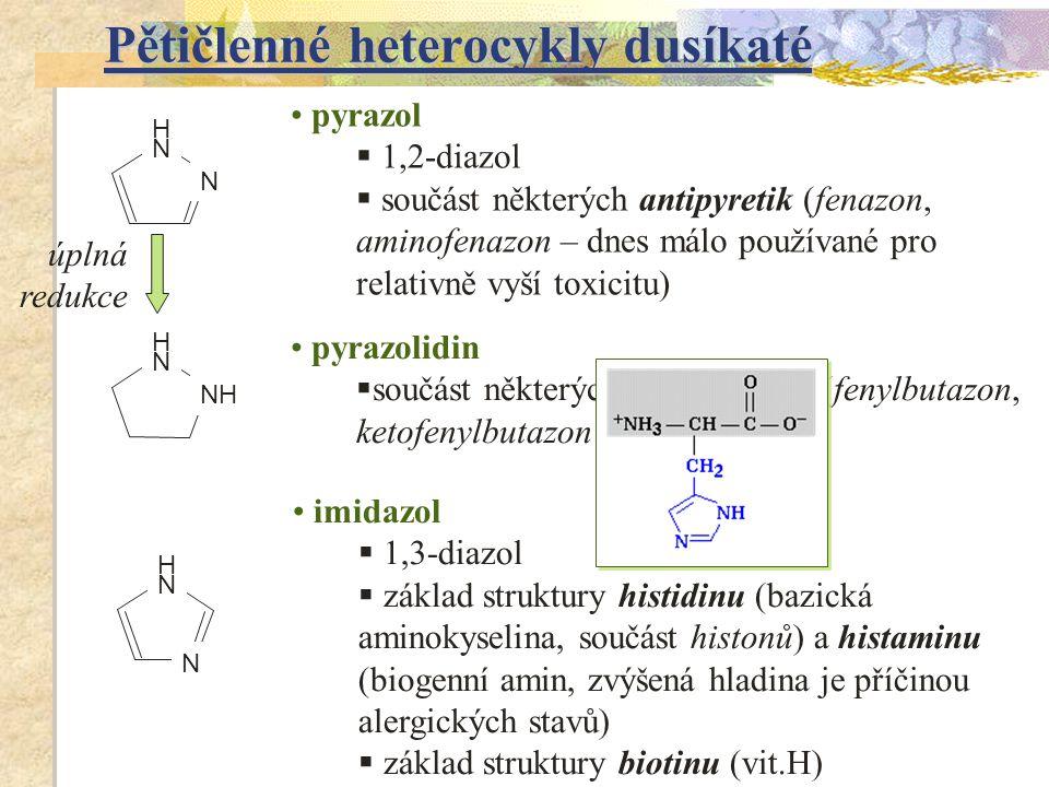 Pětičlenné heterocykly dusíkaté