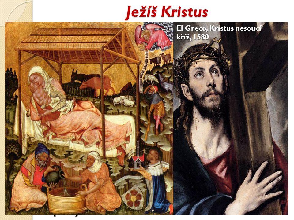 Ježíš Kristus El Greco, Kristus nesoucí kříž, 1580.