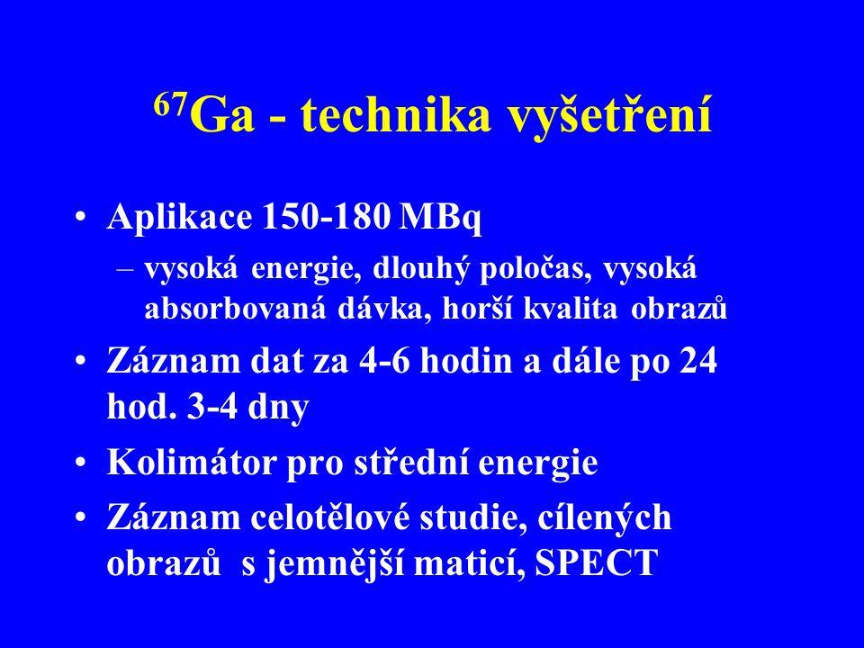 67Ga - technika vyšetření