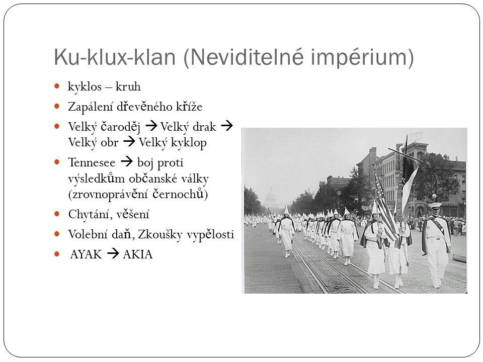 Ku-klux-klan (Neviditelné impérium)