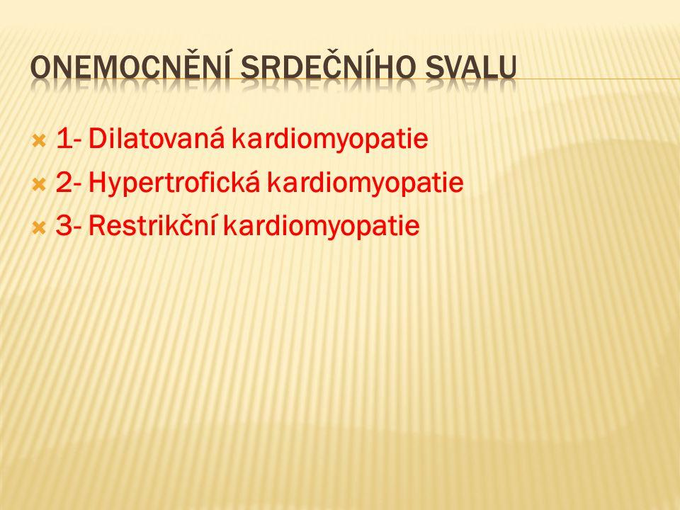 Onemocnění srdečního svalu