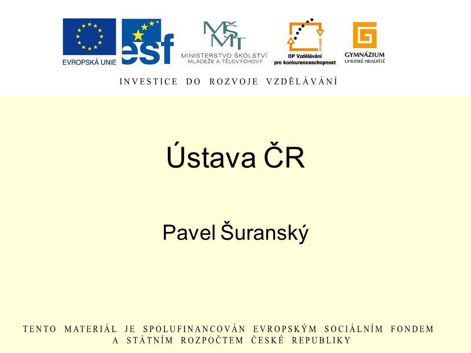 Ústava ČR Pavel Šuranský