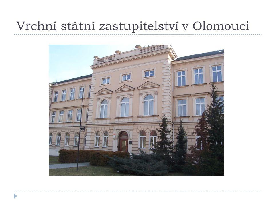 Vrchní státní zastupitelství v Olomouci