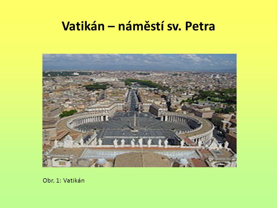 Vatikán – náměstí sv. Petra