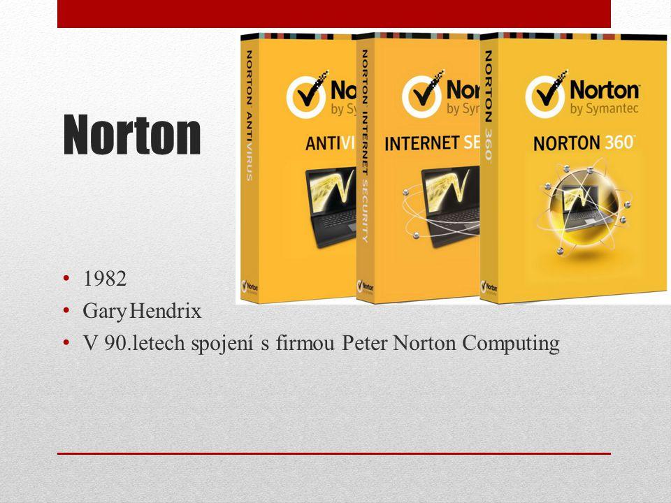 Norton 1982 Gary Hendrix V 90.letech spojení s firmou Peter Norton Computing