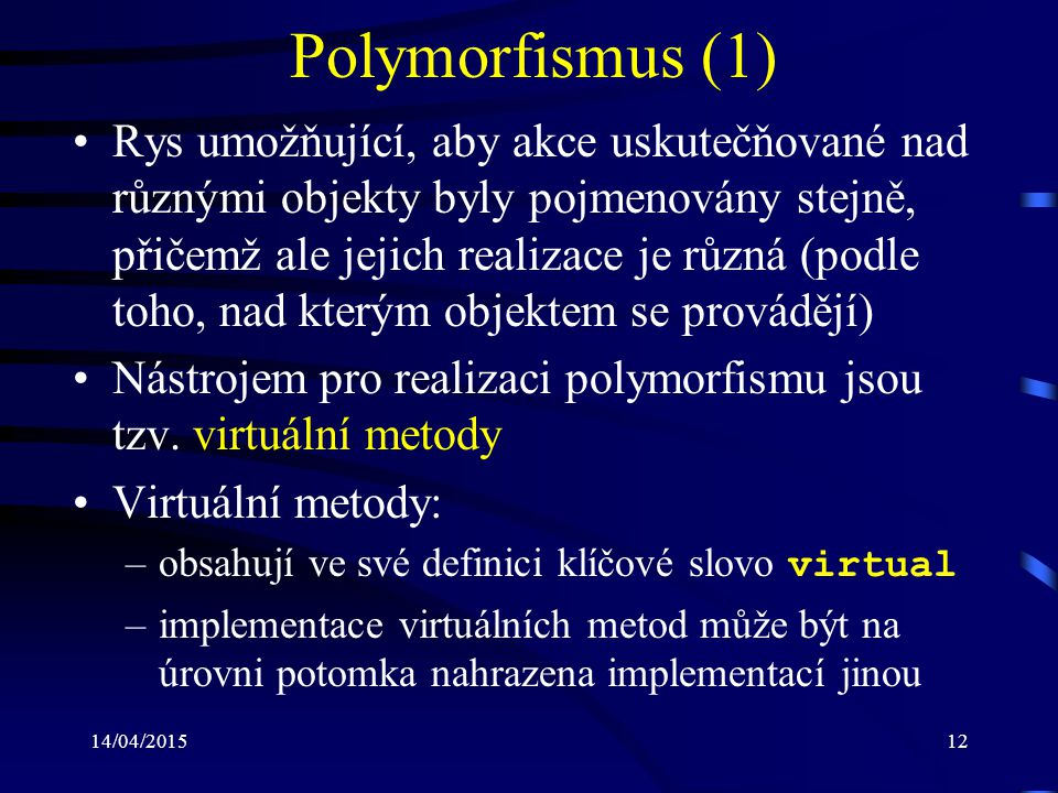 Polymorfismus (1)