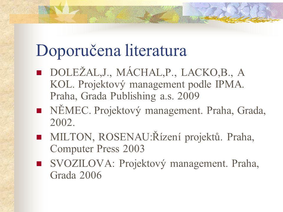 Doporučena literatura